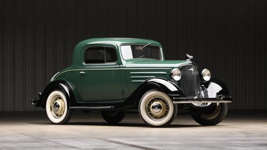 1935 Chevrolet  Standard 'Three-Window' Coupe