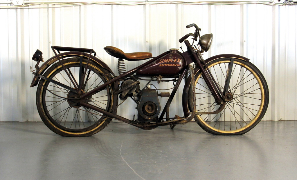 1950s Simplex Automatic Motorcycle