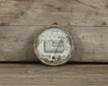 Wool Soap Round Thermometer Advertising Sign