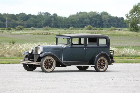 1929 Nash Advanced Six Four-Door Sedan