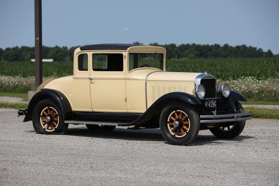 1929 Studebaker GE Six Dictator Rumble Seat Coupe