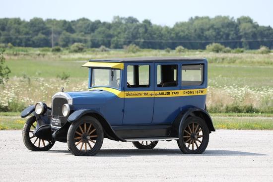 1925 Star Model F-25 Sedan Taxicab