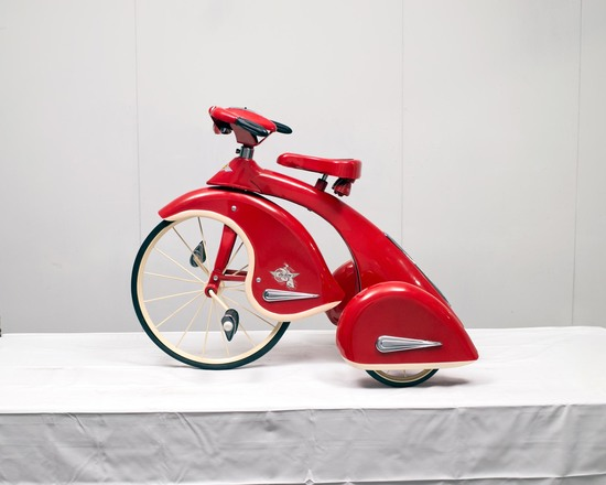 Streamline Tricycle w/Solid Tires, Pedal to Front