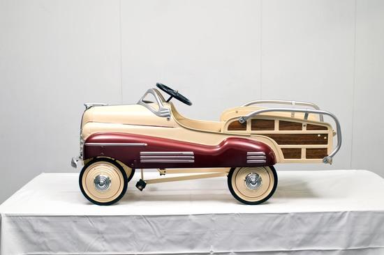 1941 Chrysler Woody Pedal Car - Restored