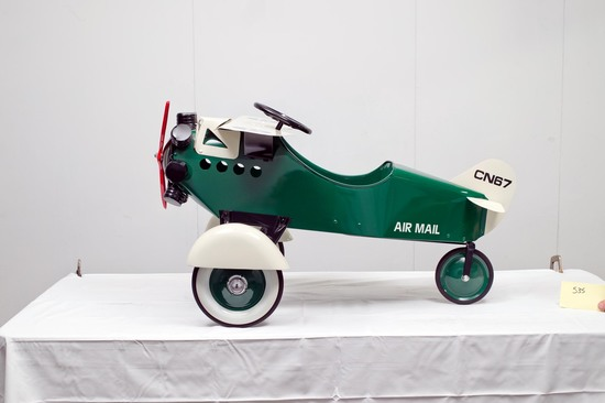 1935 Steelcraft Air Mail Plane Pedal Car