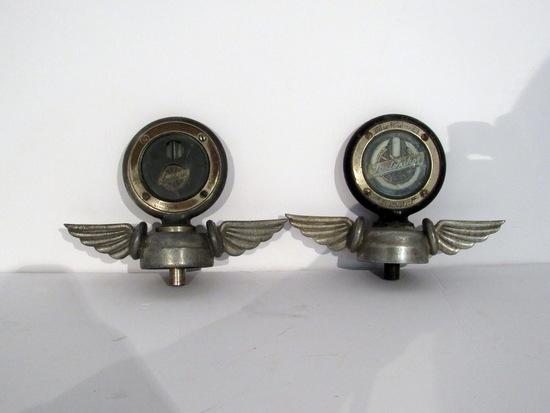 2 Vintage Studebaker Motometers
