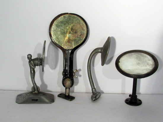 4 Vintage Vehicle Side Mirrors