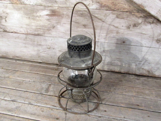 Vintage Adlake Railroad Kerosene Lantern
