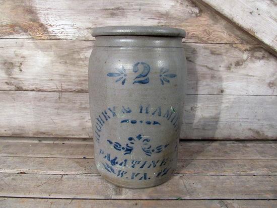 Vintage Richey and Hamilton Crock