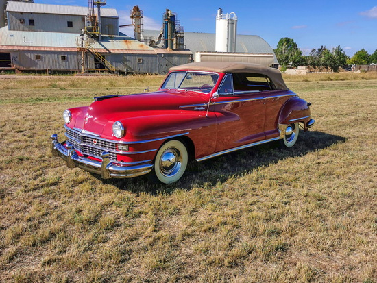 1947 Chrysler  Windsor Convertible