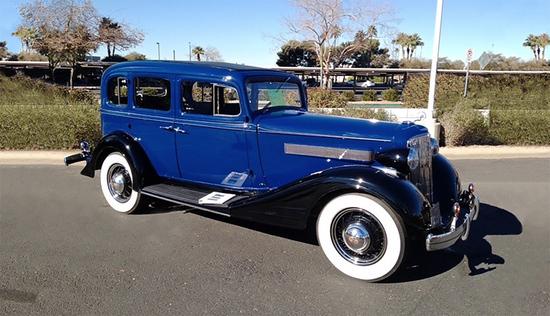 1934 Pontiac 603 Sedan