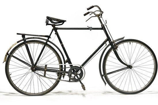 1940s WWII German Nazi Burgers-Netco ENR Transport Bicycle