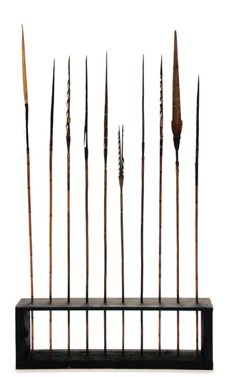 Collection of South Pacific Indigenous Spears