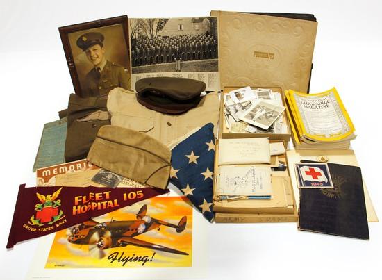 Original WWII U.S. Military Memorabilia