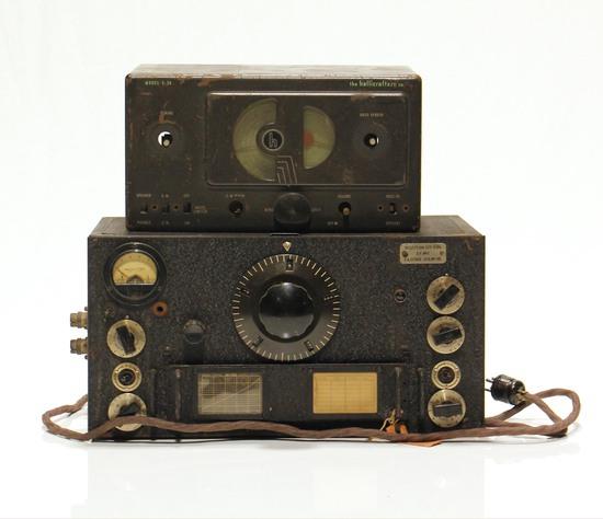 Lot of 2 WWII U.S. Army Military Radios