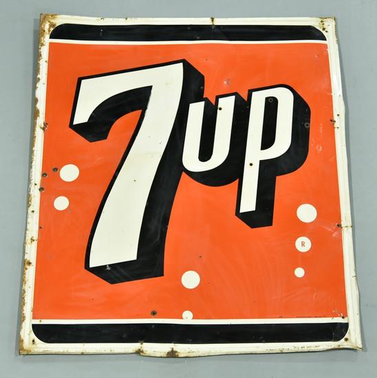 7UP Tin Soda Larger Sign