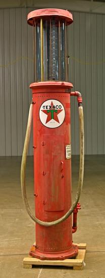 Visible Texaco Gas Pump