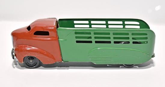 """1940s Wyandotte """"Shark Nose"""" Pressed Steel Toy Truck"""