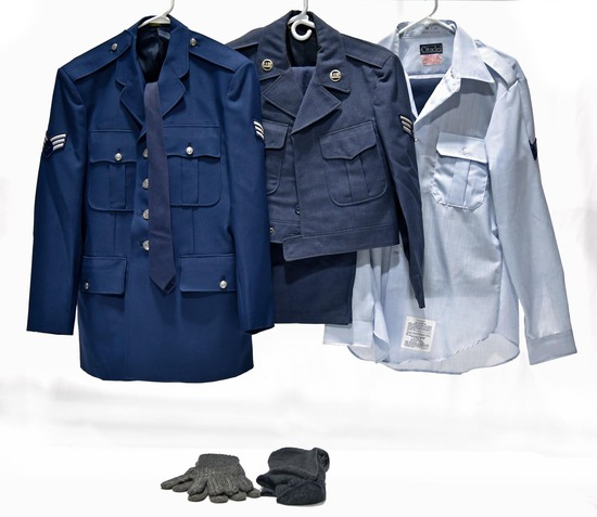 Cold War U.S. Air Force Service Jackets and Shirt