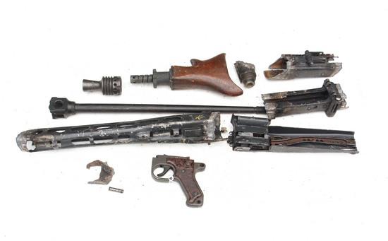 WWII German MG42 Machine Gun