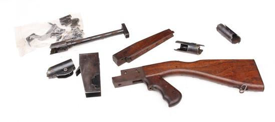 Cold War Ingram Submachine Gun, Peruvian Model Republic of Peru Crest Stamped
