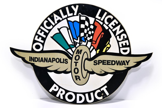 Indianapolis Motor Speedway Indy 500 Officially Licensed Product DS Wood Sign
