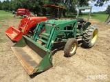 John Deere Tractor with 520 Loader
