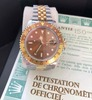 1990 Rolex GMTII 16713 Root Beer Jubilee-Papers & 2 Year Rolex Service Warranty