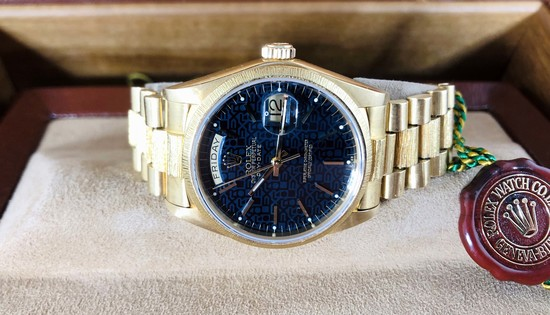 1979 Rolex 1807 18K Presidential Watch