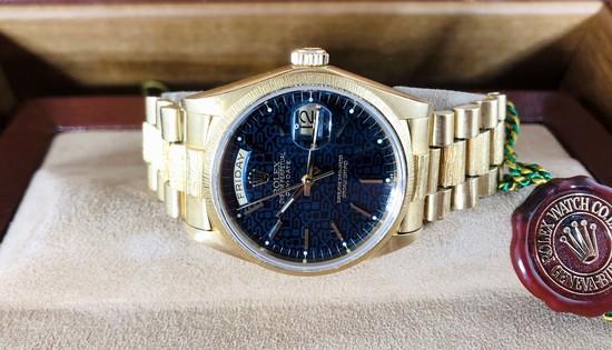 Rolex 18078 18K Presidential Watch