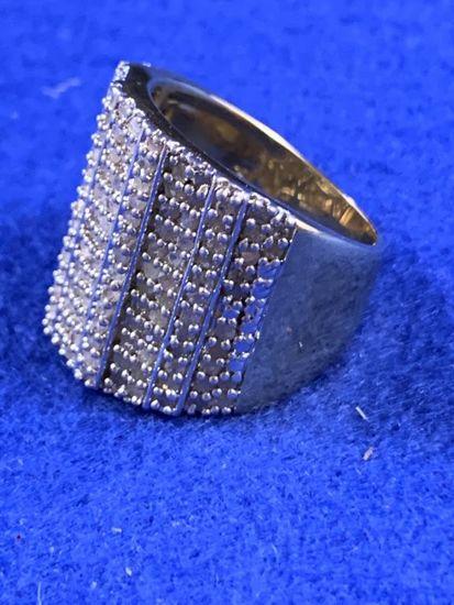 2ct Diamond Dinner Ring