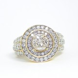 10k Gold  Art Deco Diamond Ring