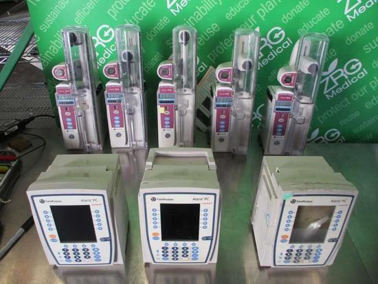 Carefusion Alaris PC 8015(x3) & PCA 8120 (x5) LOT OF 8
