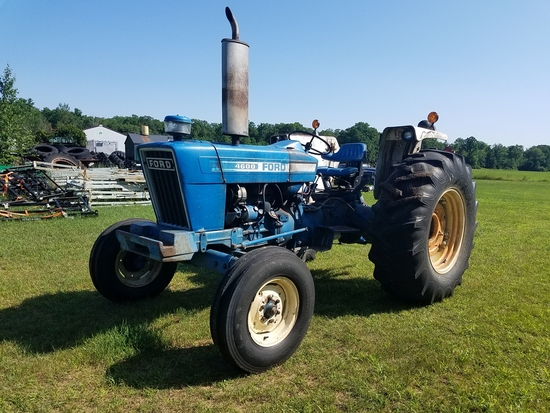 Ford 4600 s/n: C584761 1978 model. Showing 4460 hrs. Just picked it up from
