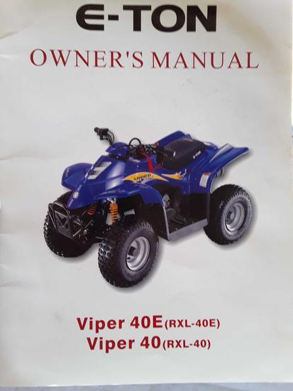 E ton Viper 40e with remote kill switch runs but has intermittent Spark