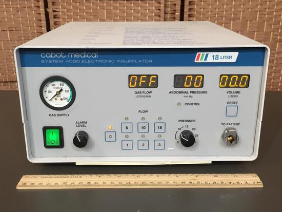 Cabot Medical Circon Cabot Insufflator 4000 Machine
