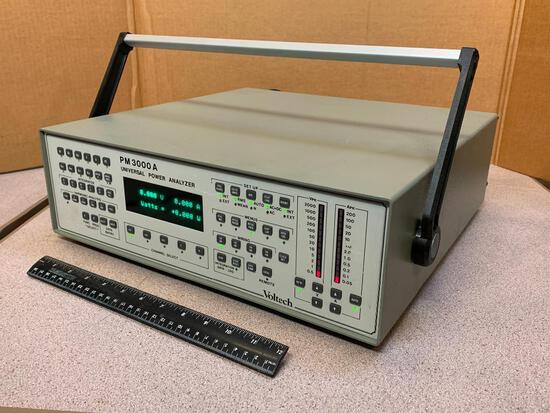 Voltech PM3000A 3 Channel Univeral Voltage Power Analyzer / Precision Power Analyzer