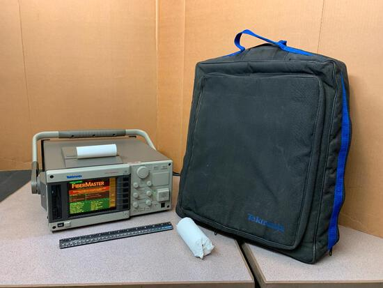 Tektronix TFP2 FiberMaster with Option 16 & 17 OTDR Optical Time Domain Reflectometer Meter
