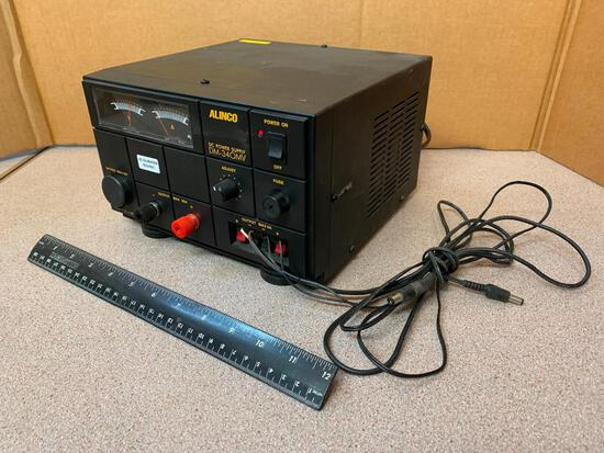 Alinco DM-340 MVT Variable DC Power Supply 1-15VDC / 30A