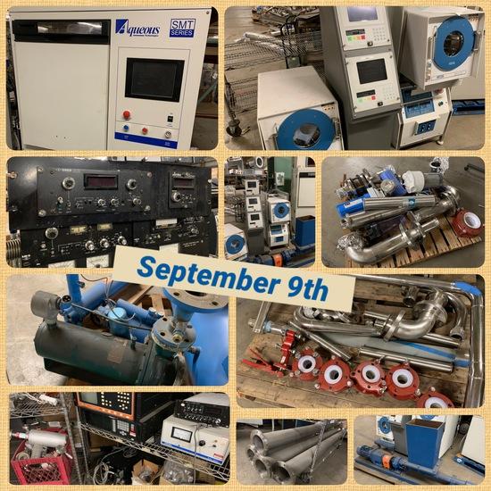 SMT Microchip/Wafer Mfg Stainless Vacuum Equipment