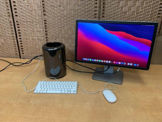 Apple A1481 Mac Pro Quad 3.7GHz Intel Xeon E5 12GB 500GB AMD FirePro BigSur Desktop Computer