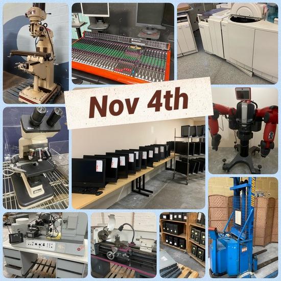 Electronics Servers Sound Laboratory Metal & MORE!