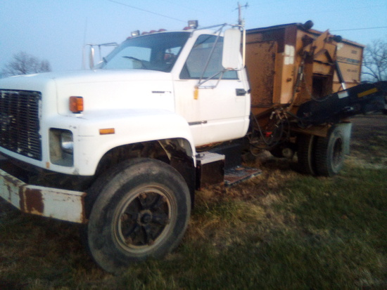 Passed Kodiak Feed Truck