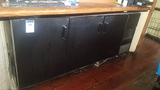 3 Door back bar cooler