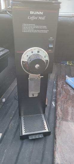 Bunn coffee mill/grinder