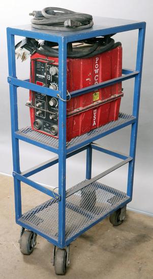 PowCon Model 300 SE multi-process/auto link welder-serial #350-63342, comes
