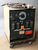 Hobart TR-250 serial #88WS12804; with cart, power cord, 1-ground, 1-stinger