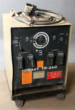 Hobart TR-250 serial #88WS07605; with cart, power cord, 1-ground, 1-stinger