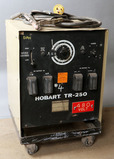 Hobart TR-250 serial88WS11434 #; with cart, power cord, 1-ground, 1-stinger
