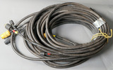 (2) Approximately 50' lead extension cables for Hobart Beta-Mig welders